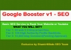 Google Booster v1 - 10,130 Premium Backlinks to Boost Rank Your Website or Youtube