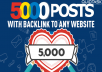 5000 Do-Follow PBN Backlinks - Keywords Included