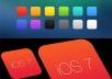 create ios7 icon../...