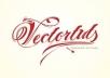 create typography logo...
