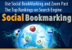 Manully 3 high quality Social Bookmarking sites With report of social Bookmarking only