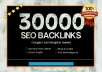 create 30000 backlinks to your providing domain