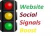 5,555 +++  Most Powerful SOCIAL SIGNALS Effective Monster Service Only