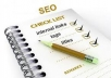 I will provideYou Full SEO  Audit Report of your site.