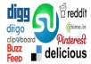 I Will Provide 10 Social Bookmarking backlinks only