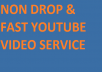 3500+ HR(90-100%) YOUTUBE VIDEO VIEWS