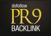 Your Link In My PR9 website
