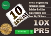 I will give your link on 10xPR5 blogroll permanent dofollow quality