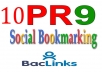 10 PR9 DO Follow Social Bookmarking less then 12 hours