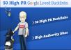 will manually Create 50+ High Authority SEO Backlinks