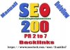 i will creat 200 High Pr 2 to 7 manually dofollow high quality backlinks