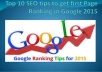 Bring sales and Get rank on google #1with Effective High PR Quality SEO Link Building Services