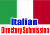 Submit your Website to 20 Best Italian Directories Manually