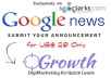 Write and submit Press Release to Google News Plus Premium Submissions