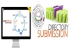 i will provide 50 approved directory submissions only
