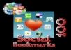 I Will do 100 Bookmarks Links Service