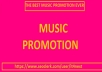 GET SILVER PACKAGES: MUSIC PROMOTION PLAYLIST FOR YOUR AUDIO SONG AND TRACKS