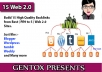 Give you 15 web 2.0 from High PR DA PA Sites