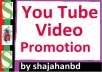 Non Drop & High Quality Video Promotion