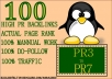Do Penguin and Panda Safe PR7 To PR3 High PR Blog Comments Backlinks
