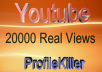 20000 Views Fast Speed instant Start