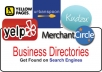 submit your business details on 60 TOP US CITATION SI... for $7