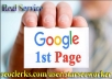 Google FAST Page Ranking SEO Guaranteed Service 90 Day After  Result