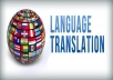 translate 500 words from English to Polish for $15