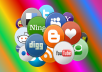 Create 600 Social Bookmarking Backlinks High quality, Rss, Ping