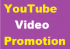 Video Promotion instant start and complete within few hours