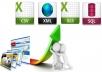 Create php web crawler, scraper, parser script