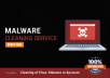 I will remove malware from your website / hosting within 24 hours