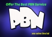I will do 20 PBN blog post for you on my private blog network