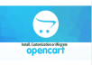 I will install or migrate or customized your opencart