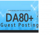 post your article in DA80 plus site for Great Result