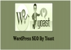 Setup Wordpress yoast SEO Plugin and optimize on page SEO