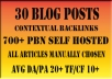 Improve Your Rankings with Up To 150+ PBN Blog Posts inc. Full Report
