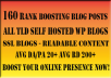 Boost Your SERP's with 160 Blog Posts Excellent DAPA & CFTF