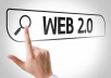 Create 20 Web 2.0 Contextual Backlinks From Dedicated accounts DA 30 - 100