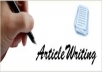 7 Articles Writing On All Topics