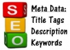 SEO On Page Meta Tags OptimizationServices