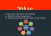 Manually build 30 web 2.0 link wheel with unique content