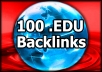 100 EDU Backlinks Manually Created From Big Universities (List Inside) Affordable Price!