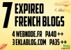 Find and Register Expired French Blog Webnode Eklablog Pa40