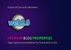 10 Premium Web 2.0 Buffer Blog Properties With Login & Unique Content