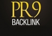 Get 32+PR8 & PR9 Profiles Backlinks