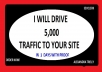 drive unlimited keyword targeted traffic to your website With Proof