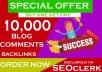 10,000 GSA Blog Comments for SEO