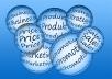 250 Word Product descriptions