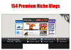 150+ Niche web sites . Ready to go